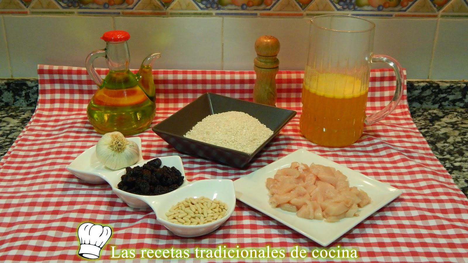 Receta de arroz al horno con pollo