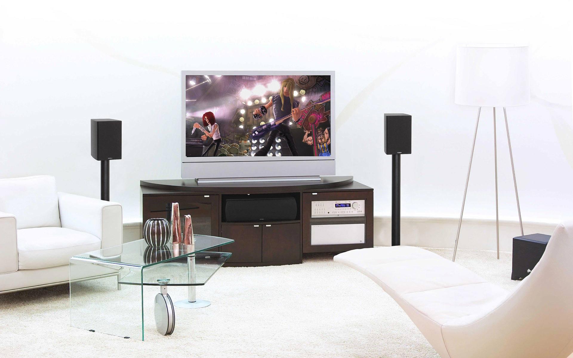 Amazing living room wallpaper