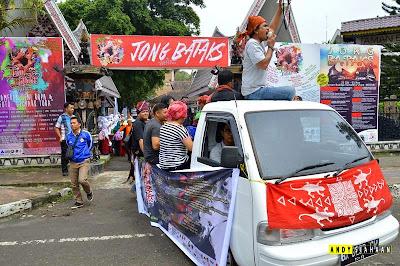 "[Foto] Karnaval Budaya ""Jong Bataks Arts Festival"" Medan"