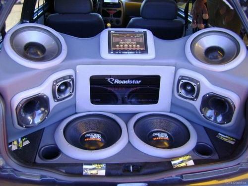fotos de som de carros