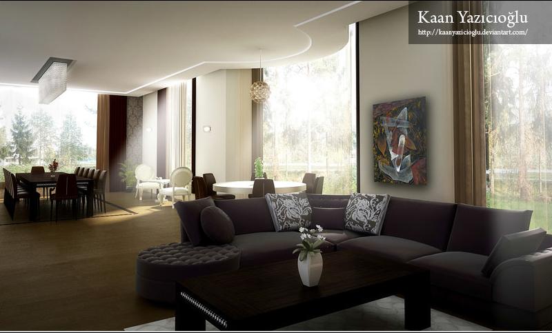 Hogares frescos espectaculares salas de estar for Interiores de salas
