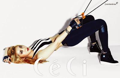 Sohyun 4minute - Ceci Magazine April Issue 2015