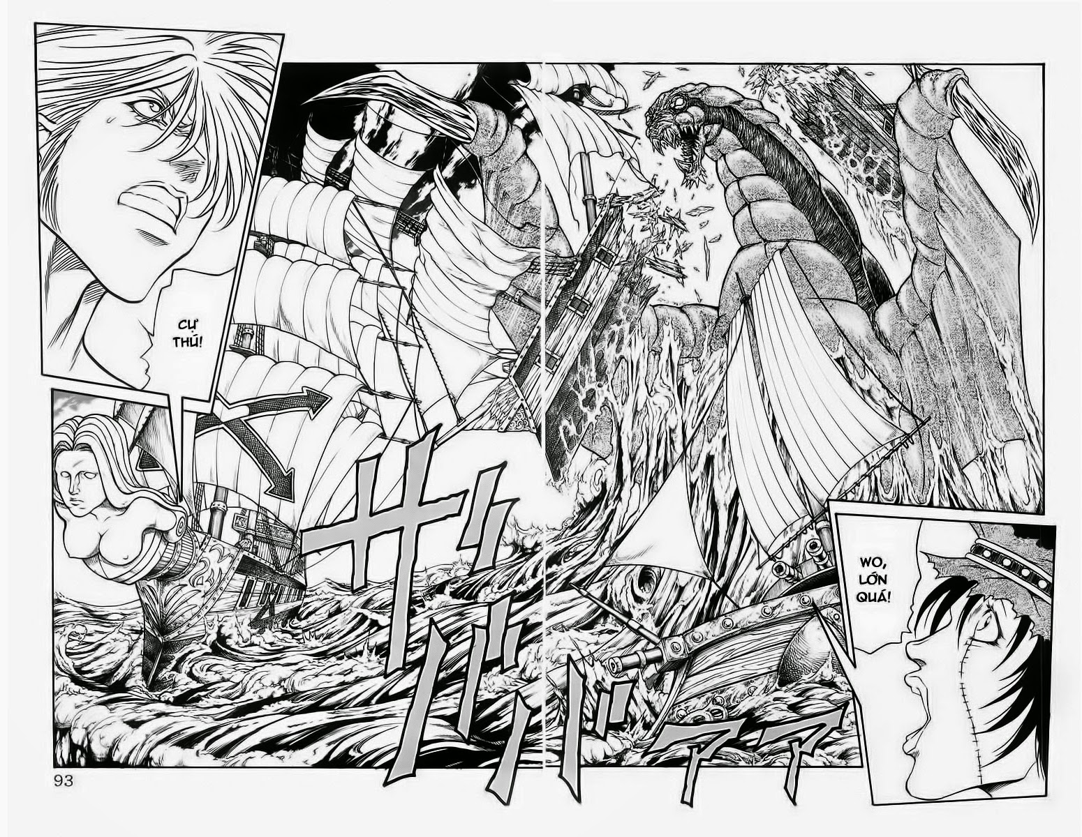 Vua Trên Biển – Coco Full Ahead chap 227 Trang 5 - Mangak.info
