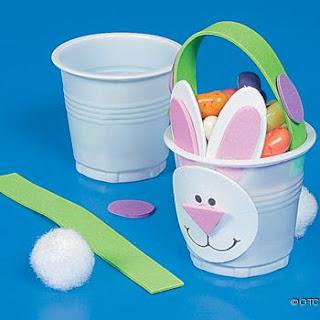 copinho de coelho Lembrancinhas para Páscoa e moldes