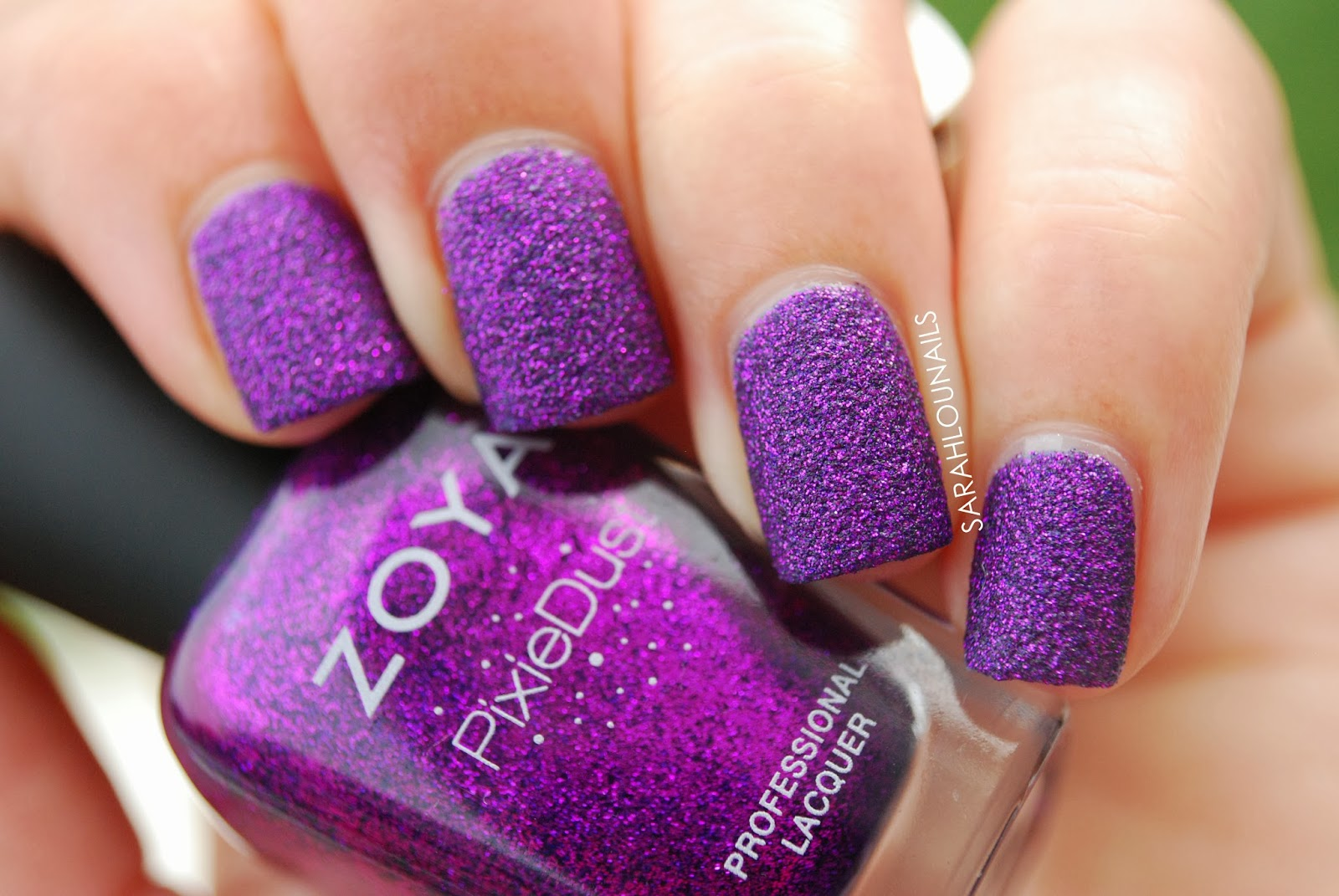 Sarah Lou Nails: Zoya Carter Pixie Dust Nails!