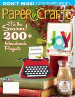 Nov/Dec Paper Crafts Magazine