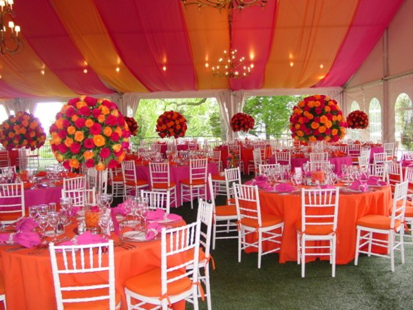 Reception Tables For Weddings