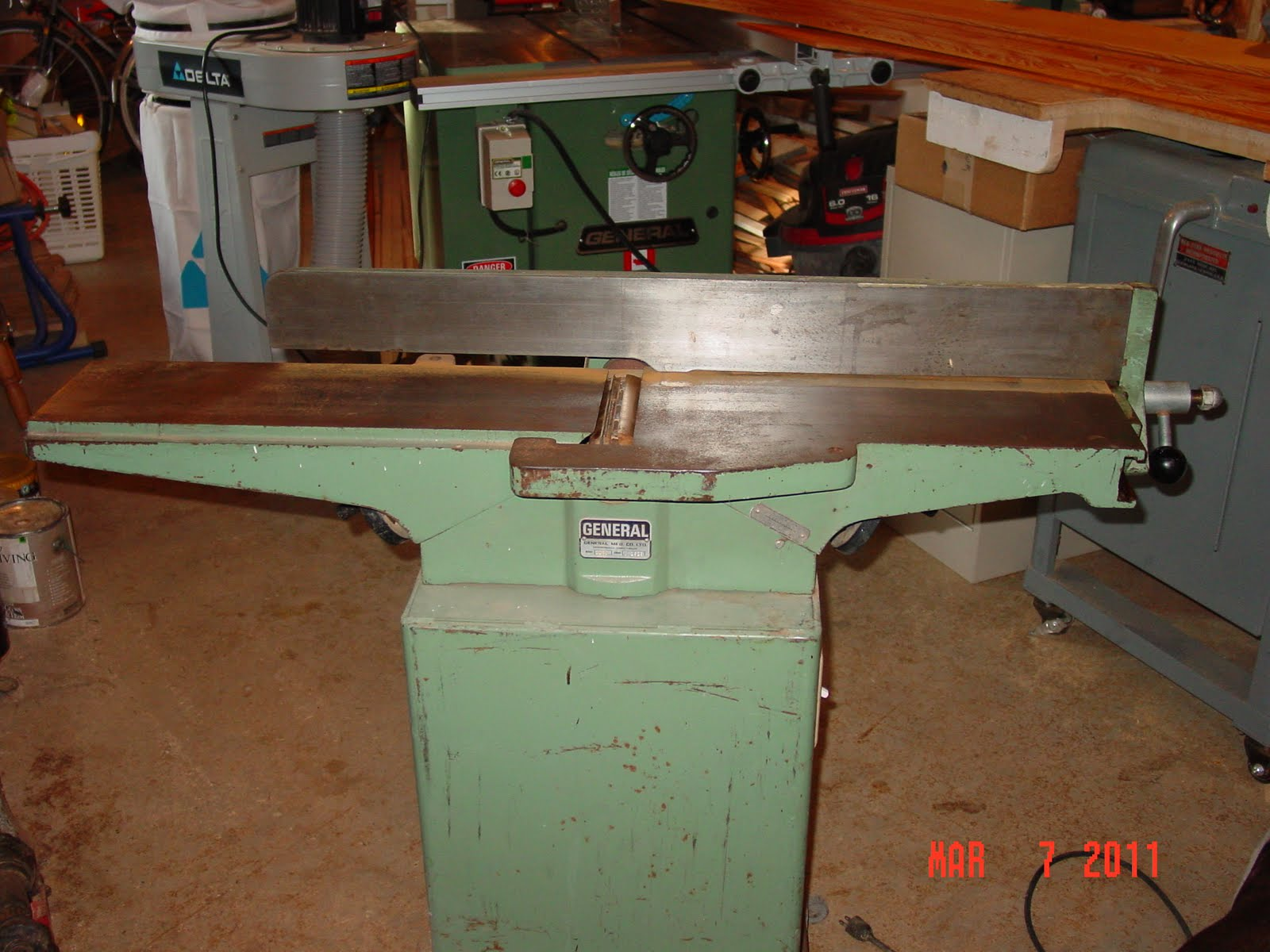 Old woodworking machines offer a great deal of utility for not much ...