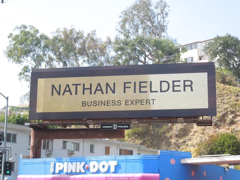 Nathan Fielder Business Expert billboard