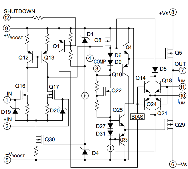 amplifiercircuits com  mosfet