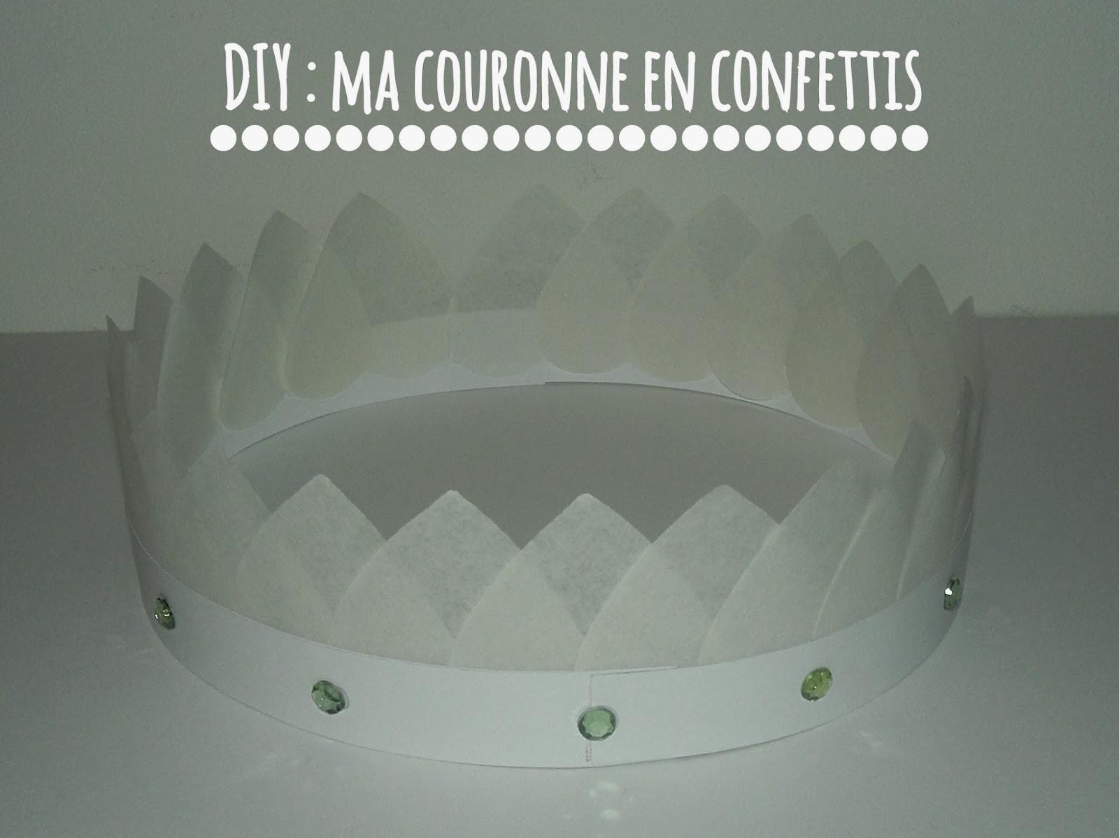 Gabulle in wonderland une couronne en confettis - Couronne de roi a fabriquer ...