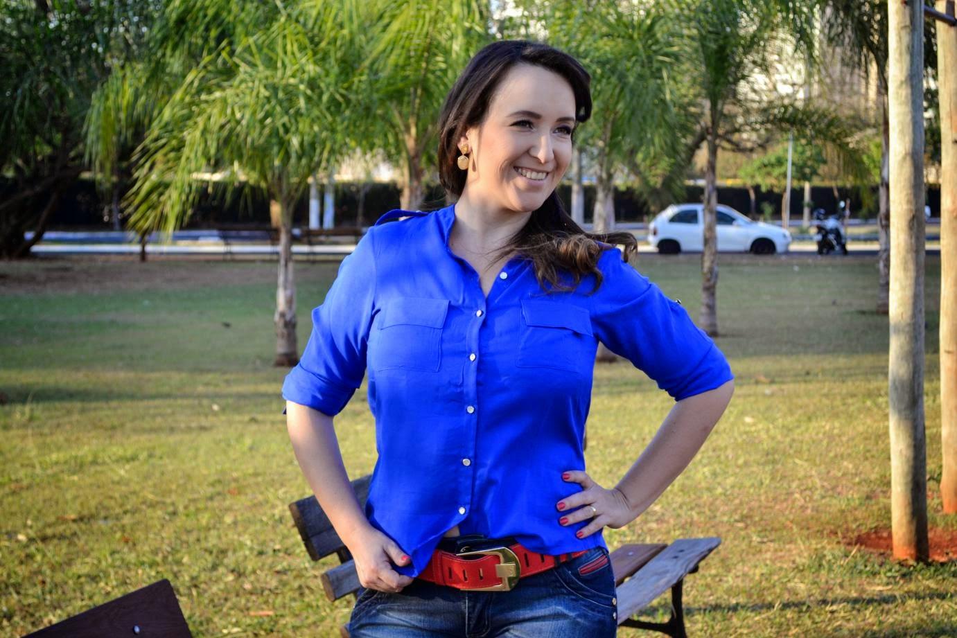 look azul e vermelho, coordenar cores, combinar cores, lalilu modas, blog de moda em ribeirão preto, fashion blogger em ribeirão preto, blog camila andrade