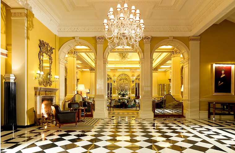 Claridges Foyer Room : Lostpastremembered claridges tea time and strawberry