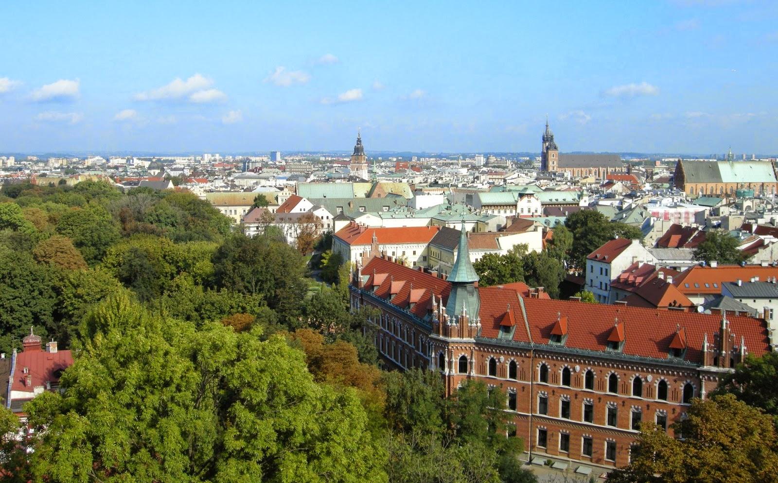 مدينة كراكوف في بولندا