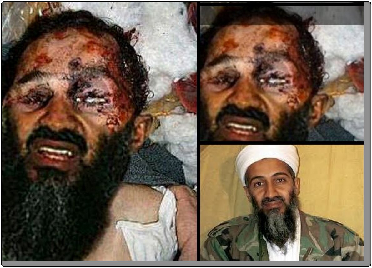 Photos bin death osama laden