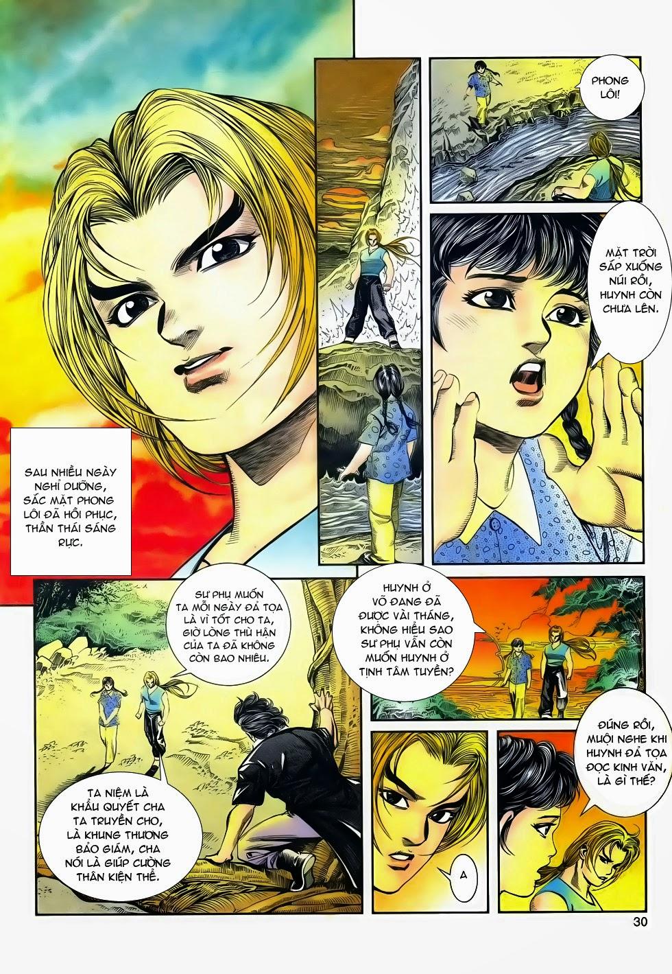 Long Hổ Phong Bạo chap 4 - Trang 29