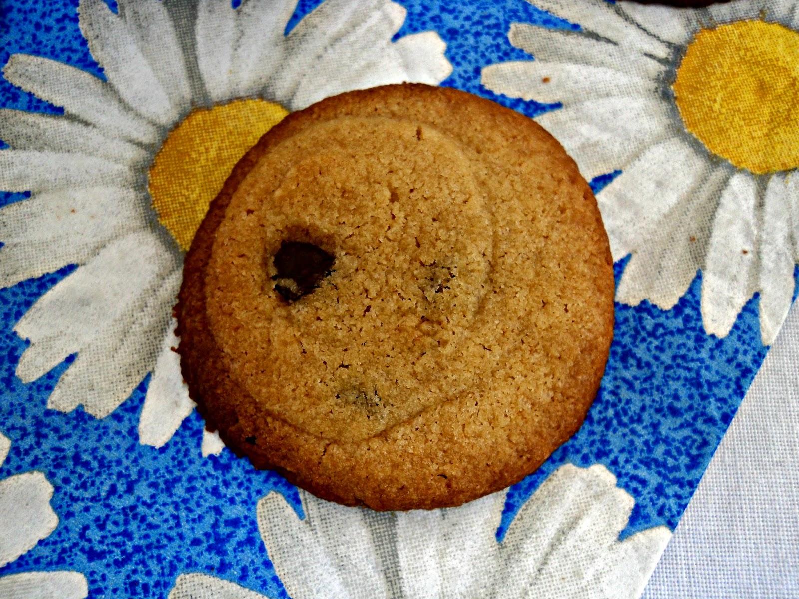 galletas mantequilla cacahuete y chocolate olor a hierbabuena