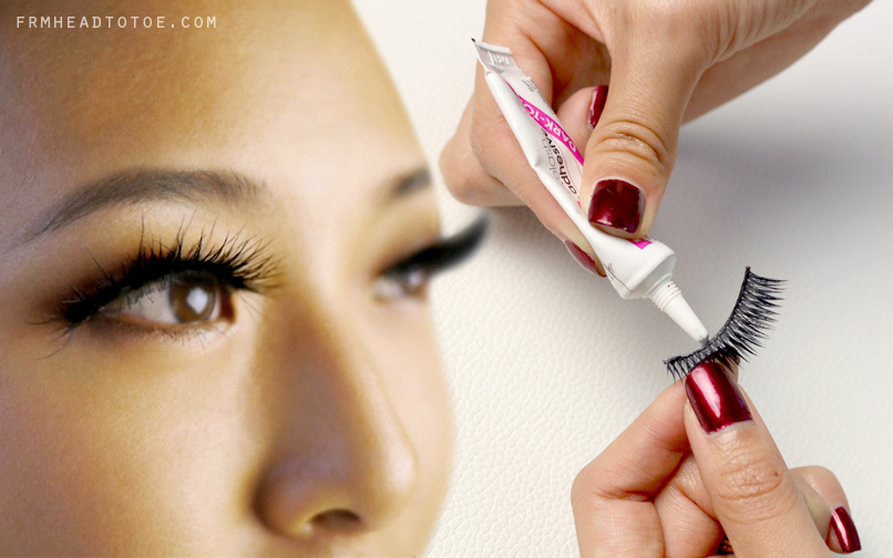 How To Apply False Eyelashes From Head To Toe
