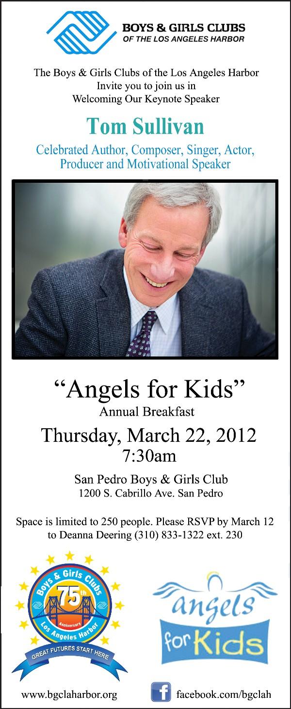 angels for kids 2012 u2013 boys u0026 girls clubs of the la harbor