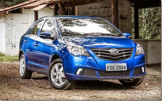 preço automoveis novos  Lifan lança sedã 530