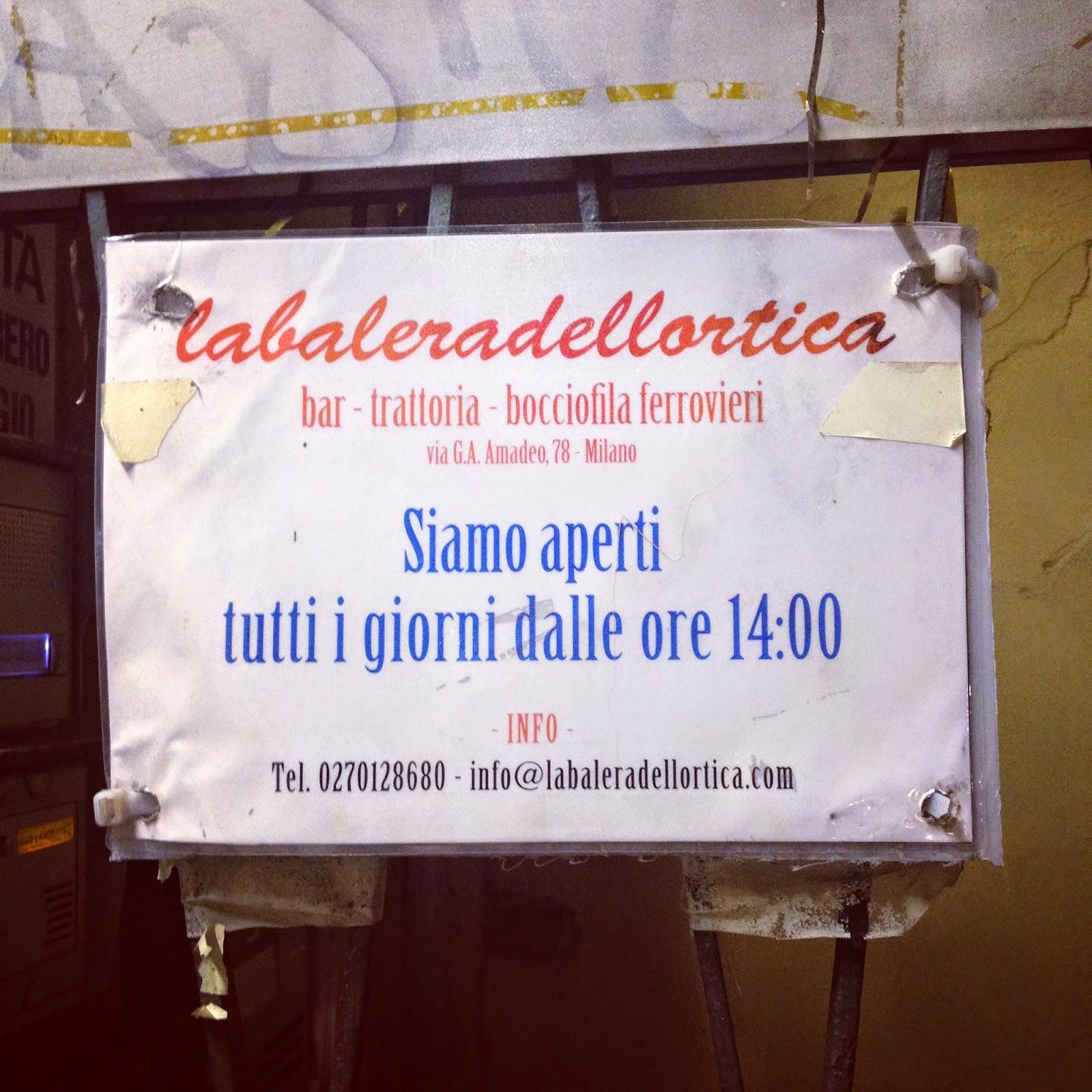 La Balera dell'Ortica - Milano