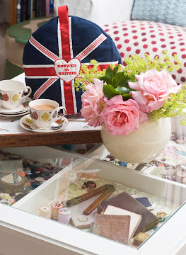 our popular union jack tea cosy