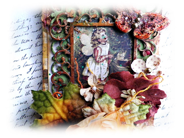 "Vintage Style Tag created by Lisa Novogrodski using the November Scraps of Darkness Kit ""Amys Amazing Autumn"" lisaslivingincolor.blogspot.com"