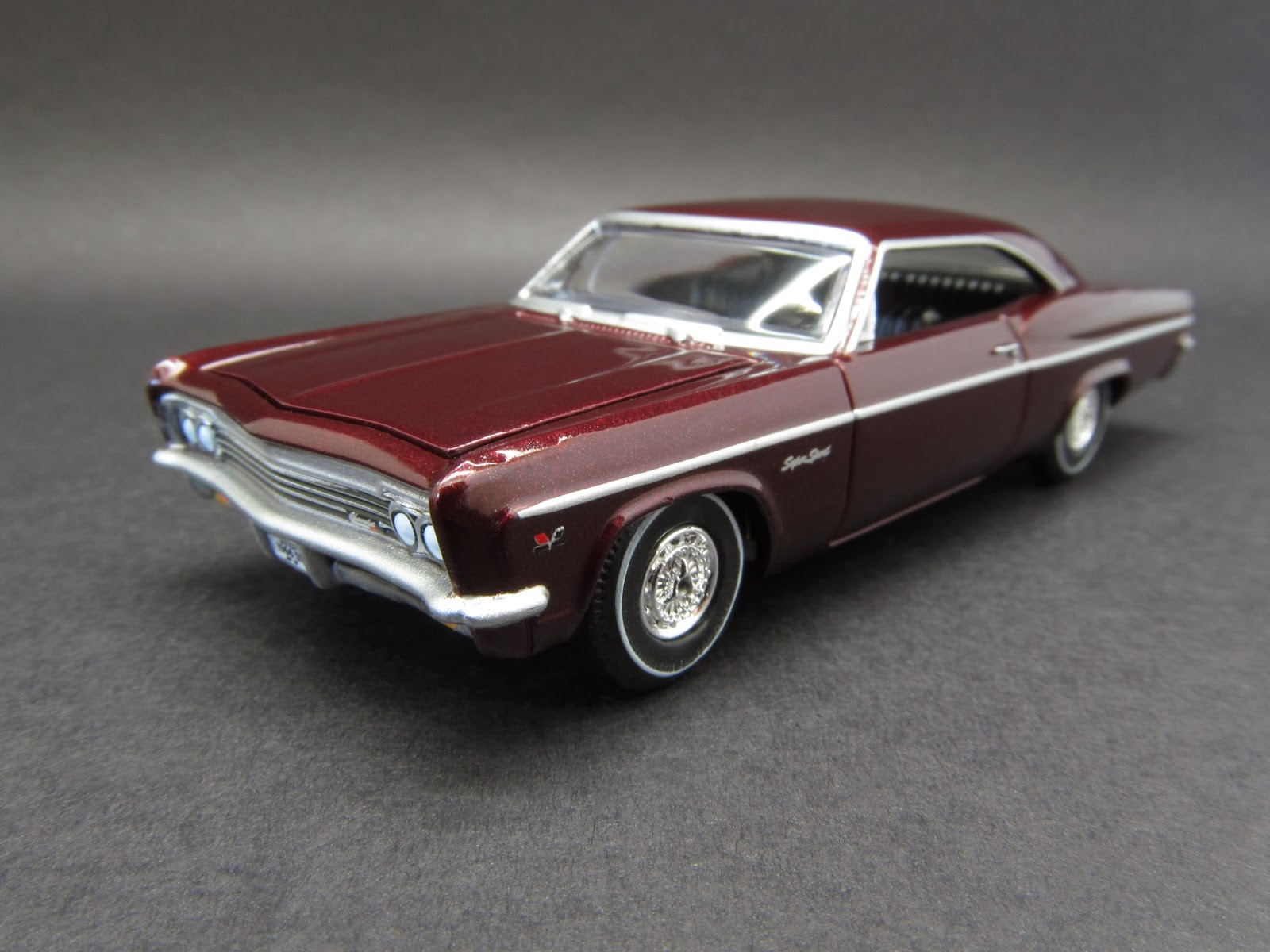 1966 chevrolet impala ss 1 64 scale diecast from auto world 2013 vintage muscle car set detailed release a