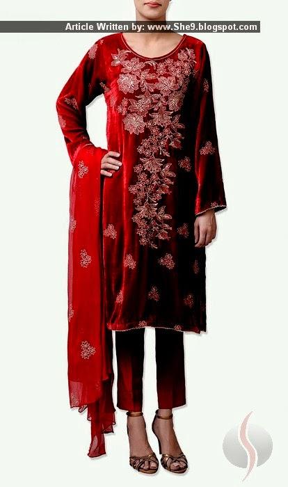 Bareeze Velvet Dresses