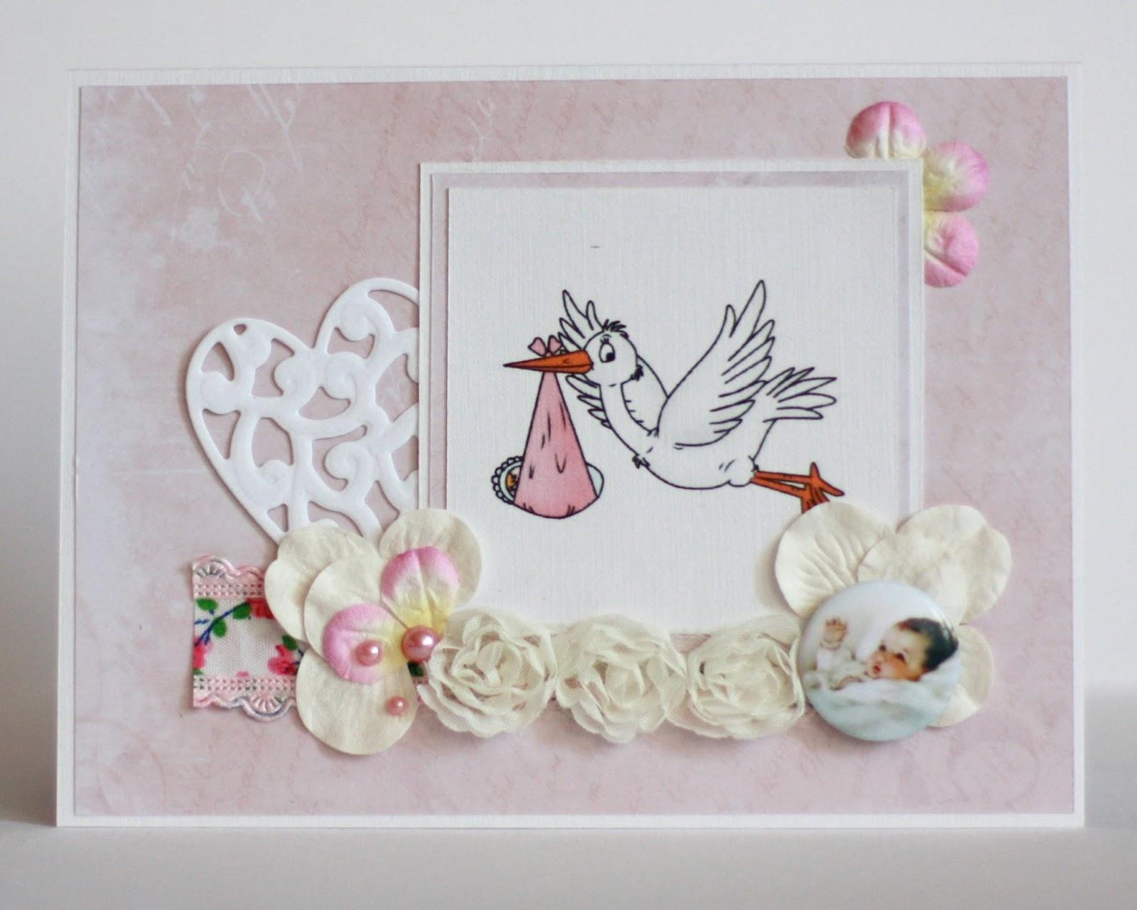 Бесплатные открытки с поздравлением с рождением детей - скачать 77