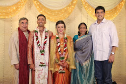 Mansi's Uncle, Aunt and cousin Utkarsh from Singapore