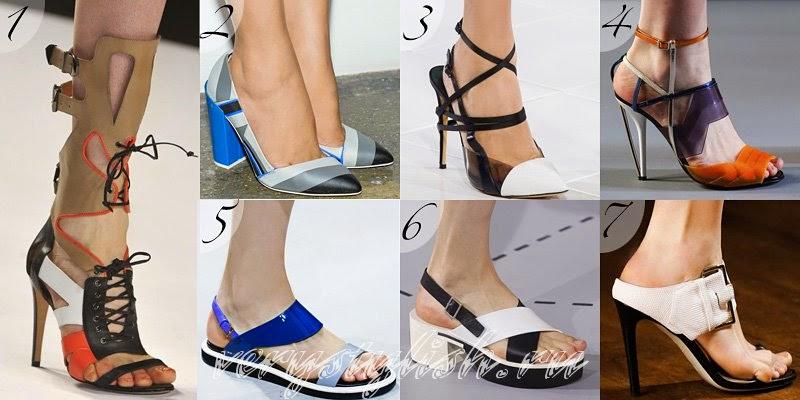 Summer 2014 Women's Footwear Fashion Trends