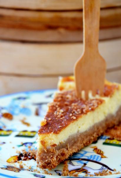 torta con formaggio robiola e panna liquida