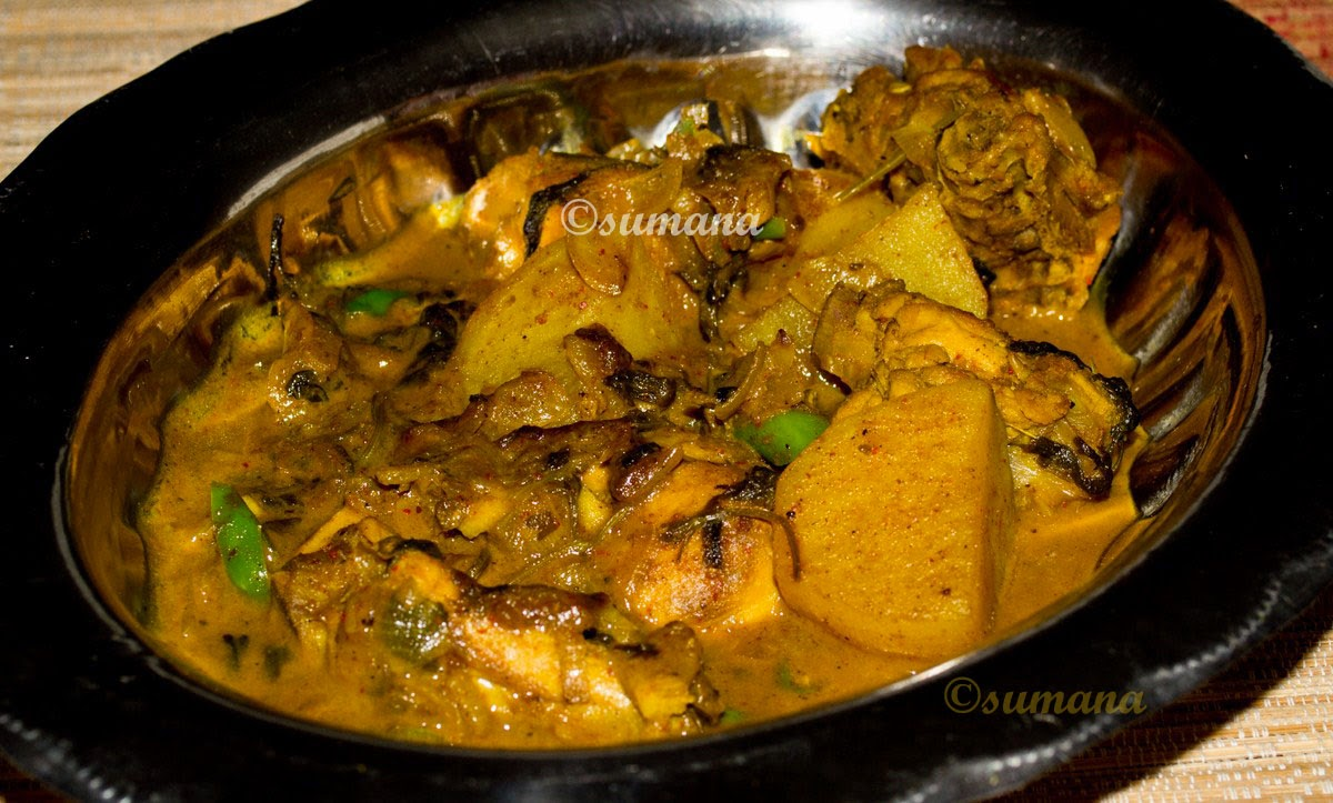 Easy recipe to cook Goan Chicken Vindaloo, a hot and spicy Indian chicken curry