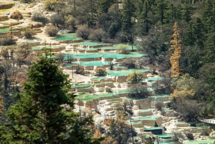 Huanglong – Unique Yellow Dragon Pools in China - Snow Addiction ...