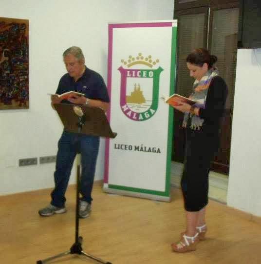 Los Poetas Amaya y Azpeitia
