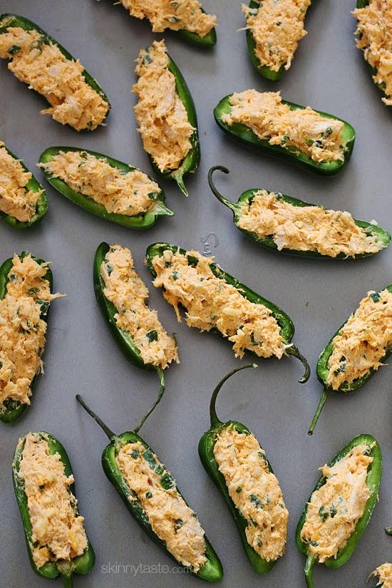 Skinny Baked Jalapeno Poppers Recipe — Dishmaps