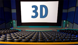 watch 3D movie in the cinema