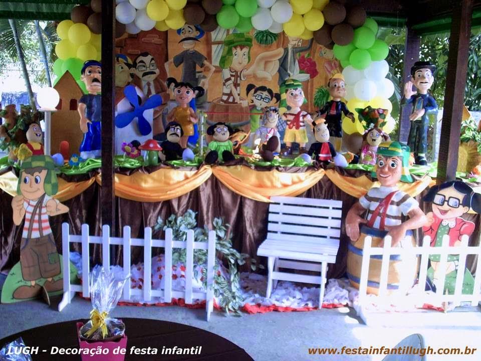 Tema Chaves para decoração de festa infantil