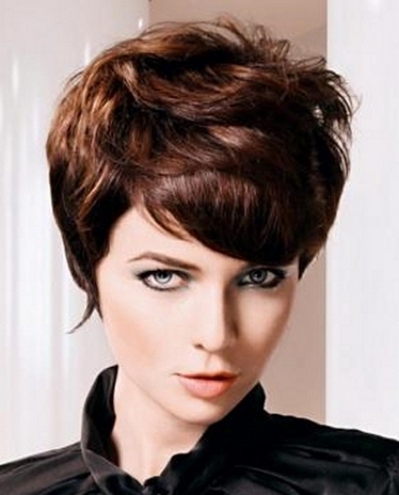 layered 2012 trends very short hairstyles cool layered 2012 trends