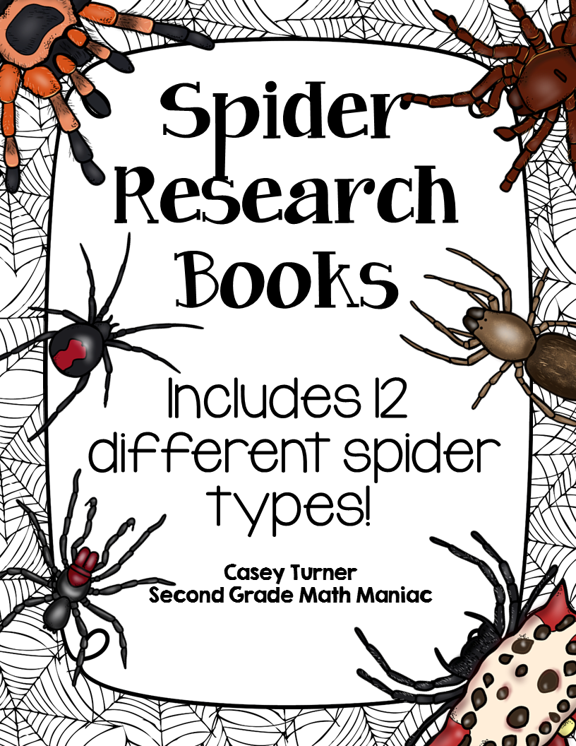 https://www.teacherspayteachers.com/Product/Spider-Research-Books-1716282
