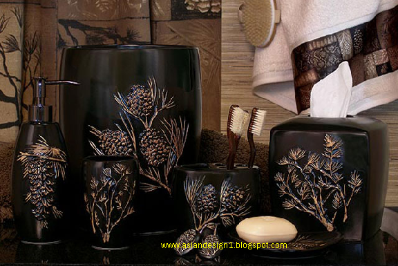 Asian design asian bathroom accessories - Oriental bathroom decor ...