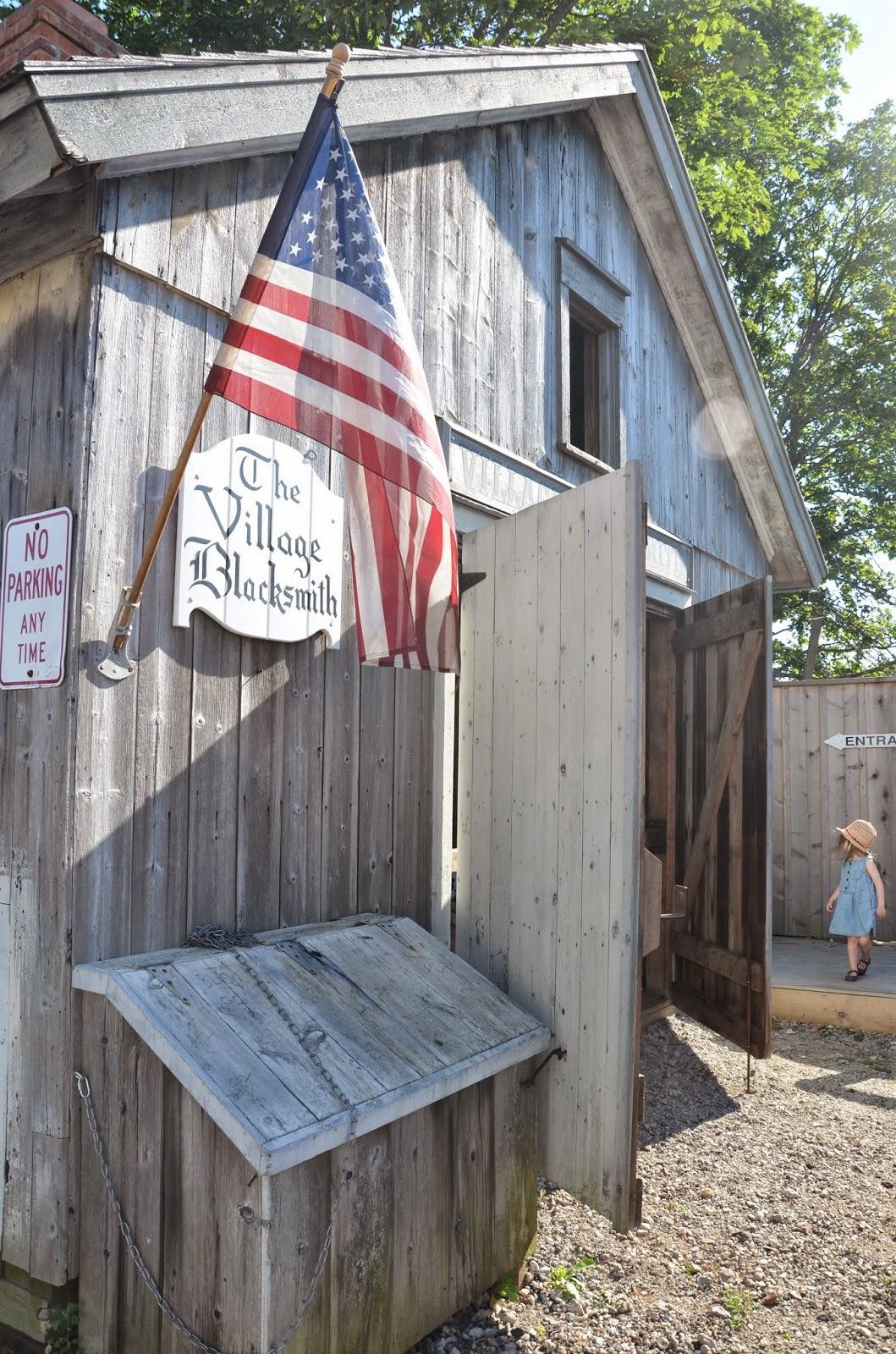 the village blacksmith, greenport, ny