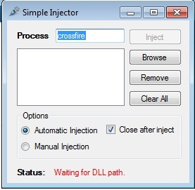 CrossFire Simple and Undetected injector indir – Download