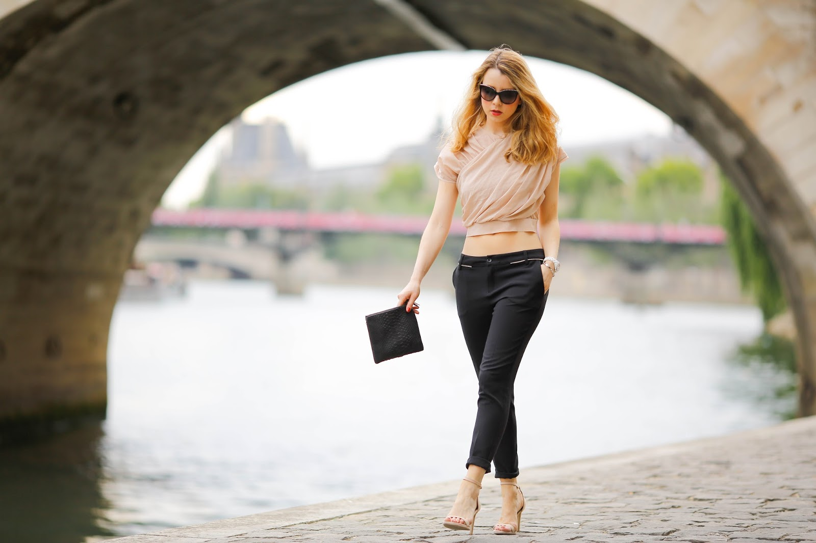 pardonmyobsession, streetstyle, paris, gestuz, five jeans, summer