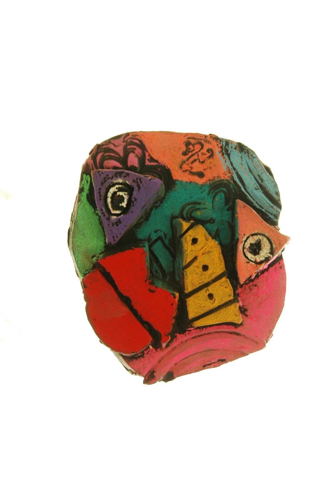 Make Stuff 4th Grade Picasso Inspired Clay Faces