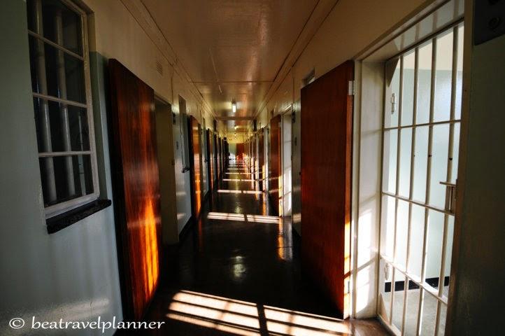 Robben island corridoio sezione B