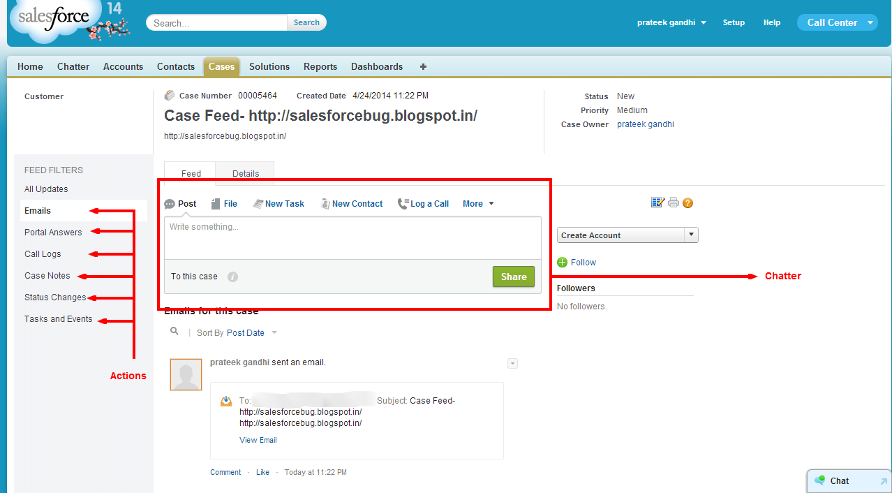 Bugged By Salesforce
