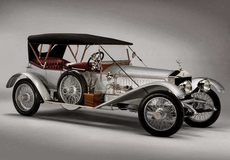 World Of Classic Cars Rolls Royce 40 50 Silver Ghost