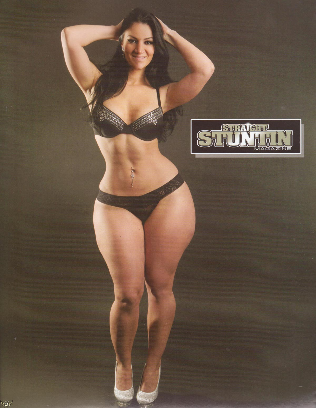Ros  E Divine Featured In Straight Stuntin Magazine Issue  22
